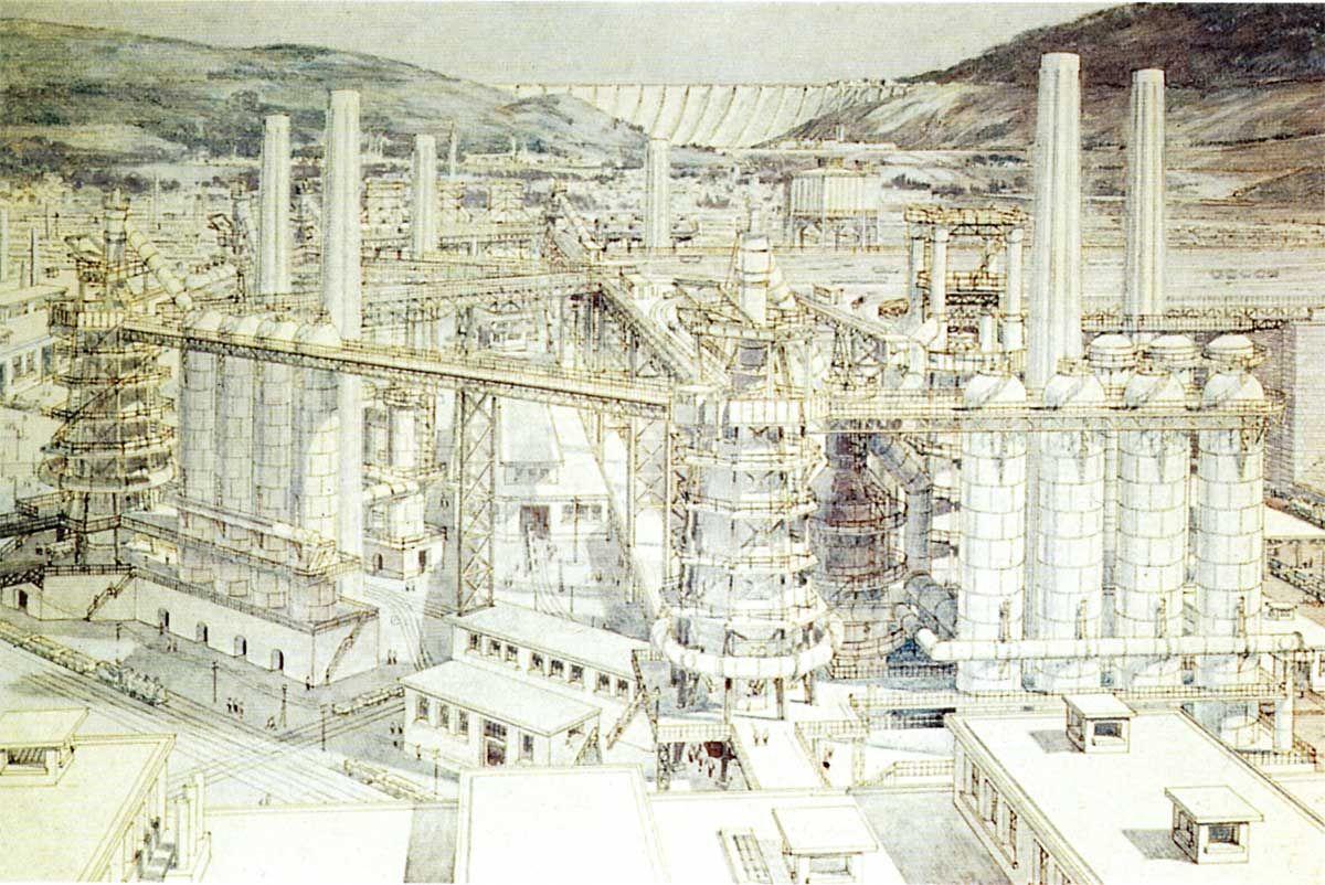 T. Garnier - Cité Industrielle, 1917