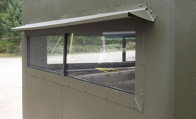 Deer Blind Window For Your Hunting Season Visor2 Deer