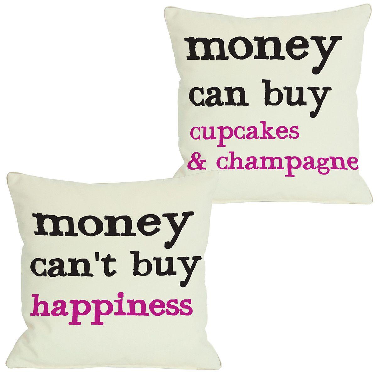 Money Throw Pillows #money #pillows #cupcakes #livingroom #bedroom #bedding #home #decor