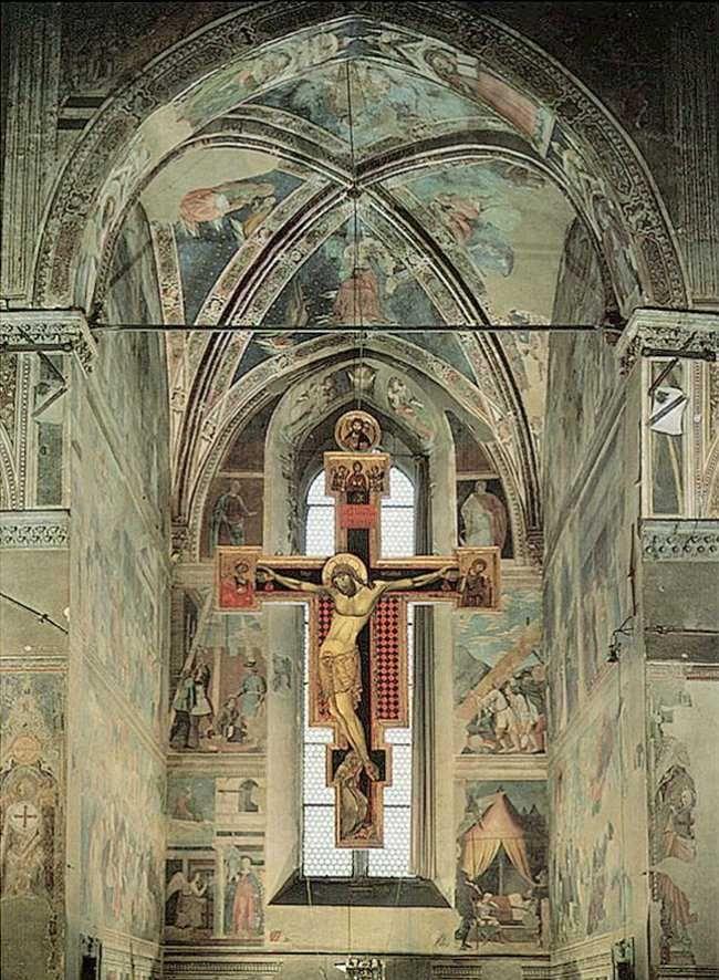 Piero della Francesca - Leggenda della Vera Croce (1460) - S.Francesco, Arezzo