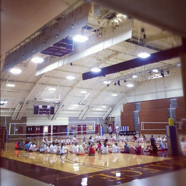 Welcoming Cobber Volleyball Camp To Cordmn Campus This Week Volleyball Campus