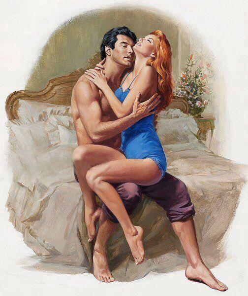 Любовный роман женщина с мужчиной в кровати видео