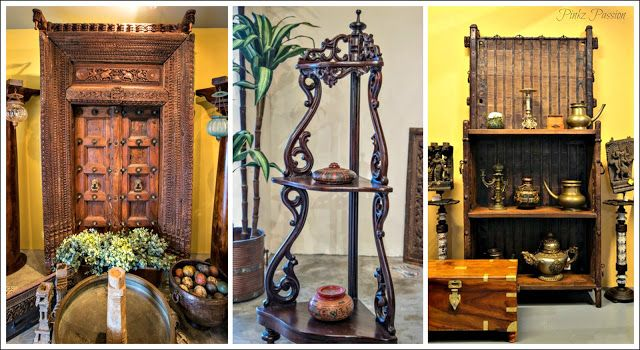 Antique Décor, Antique Furniture, Antique Indian Furniture, Brass  Artifacts, Colonial Furniture,