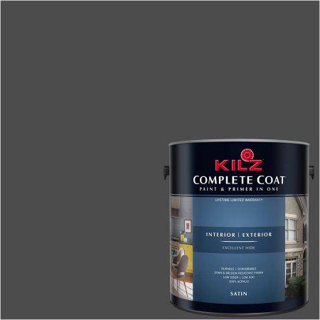 Kilz Complete Coat Interior/Exterior Paint & Primer in One #RM210 ...