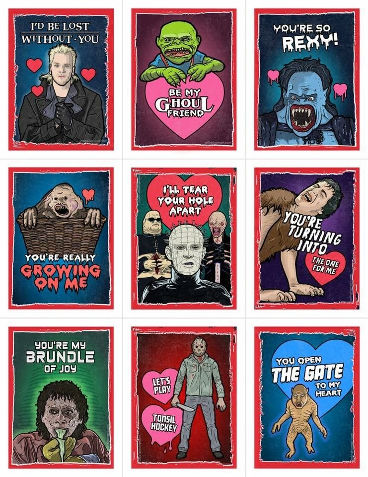 omg look at these valentine's cards if only i could have
