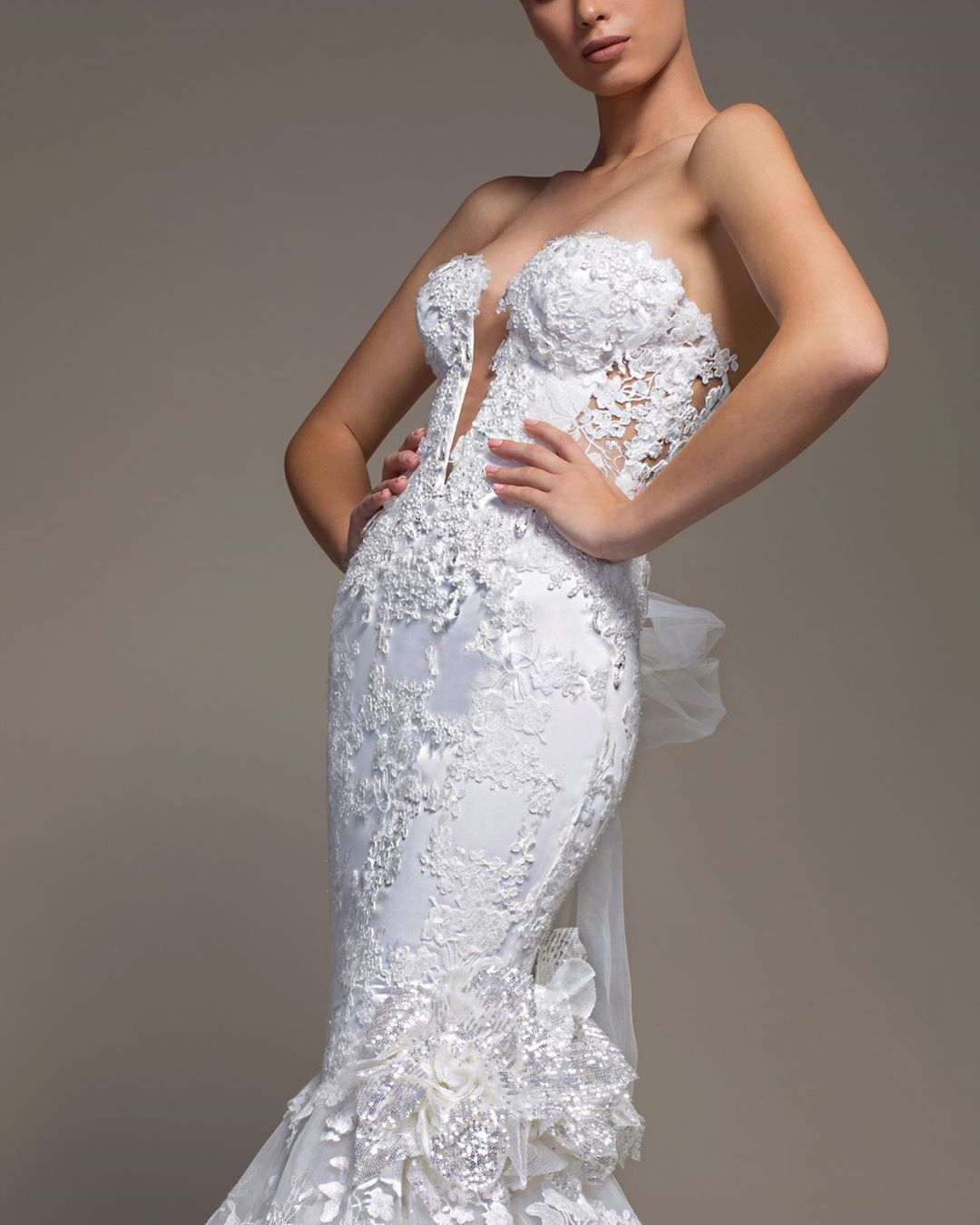 Pnina Tornai On Instagram When It Fits Like A Glove Thanks To That Signature Pninatornai Corset Re Ball Gowns Wedding Ball Dresses Ball Gown Wedding Dress