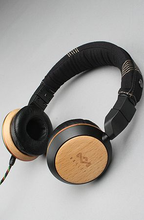 The House Of Marley The Stir It Up Headphone With Mic In Harvest