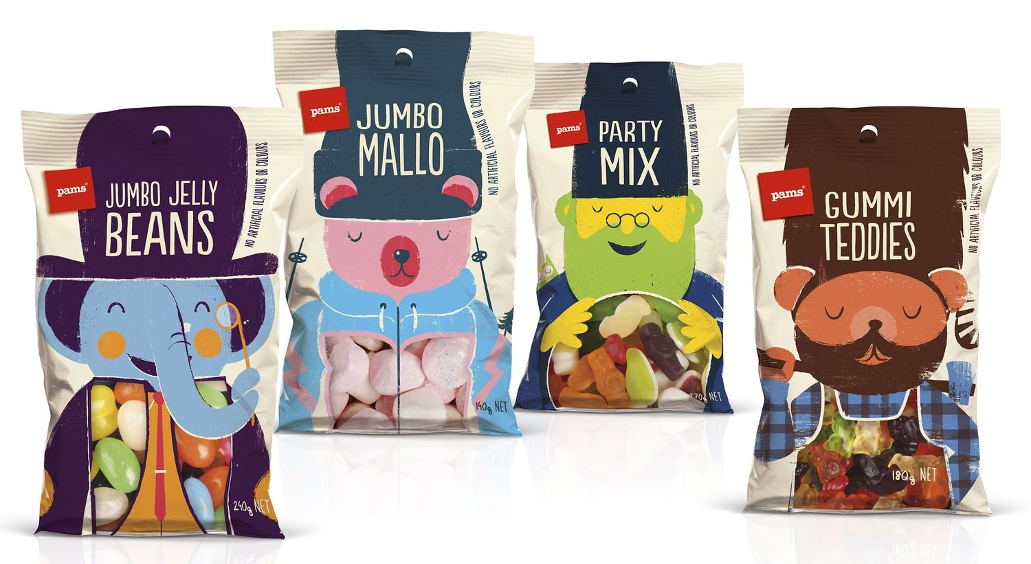 Pams Confectionery Range | all wrapped up | Confectionery ...