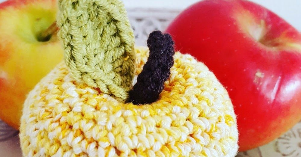 Appel Haken Haken Pinterest Apple Fruit Crochet Food And Crochet
