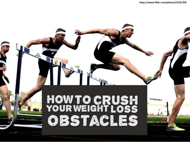 How to Easily Lose Weight by Crushing Your Weight Loss Obstacles by Susan  Campbell via slideshare