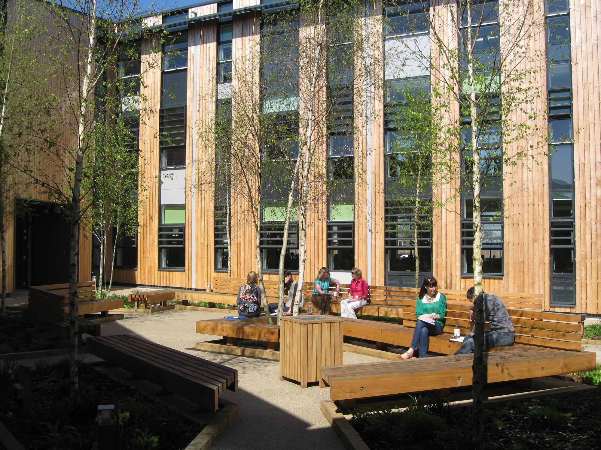 Woodland Trust Headquarters, Lincolnshire Landscape
