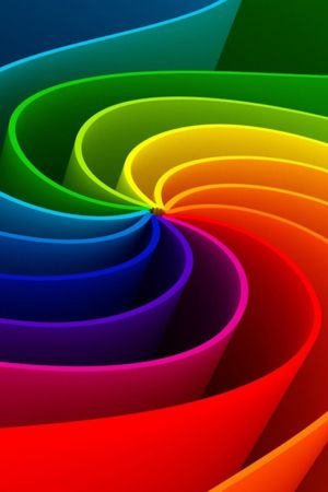 Download Free 3D Design Abstract Rainbow IPhone Wallpaper Mobile Contributed By Javier30003