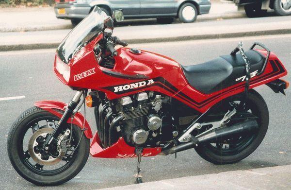 HONDA CBX 750 F.  #motorcycles #motorbikes #motocicletas
