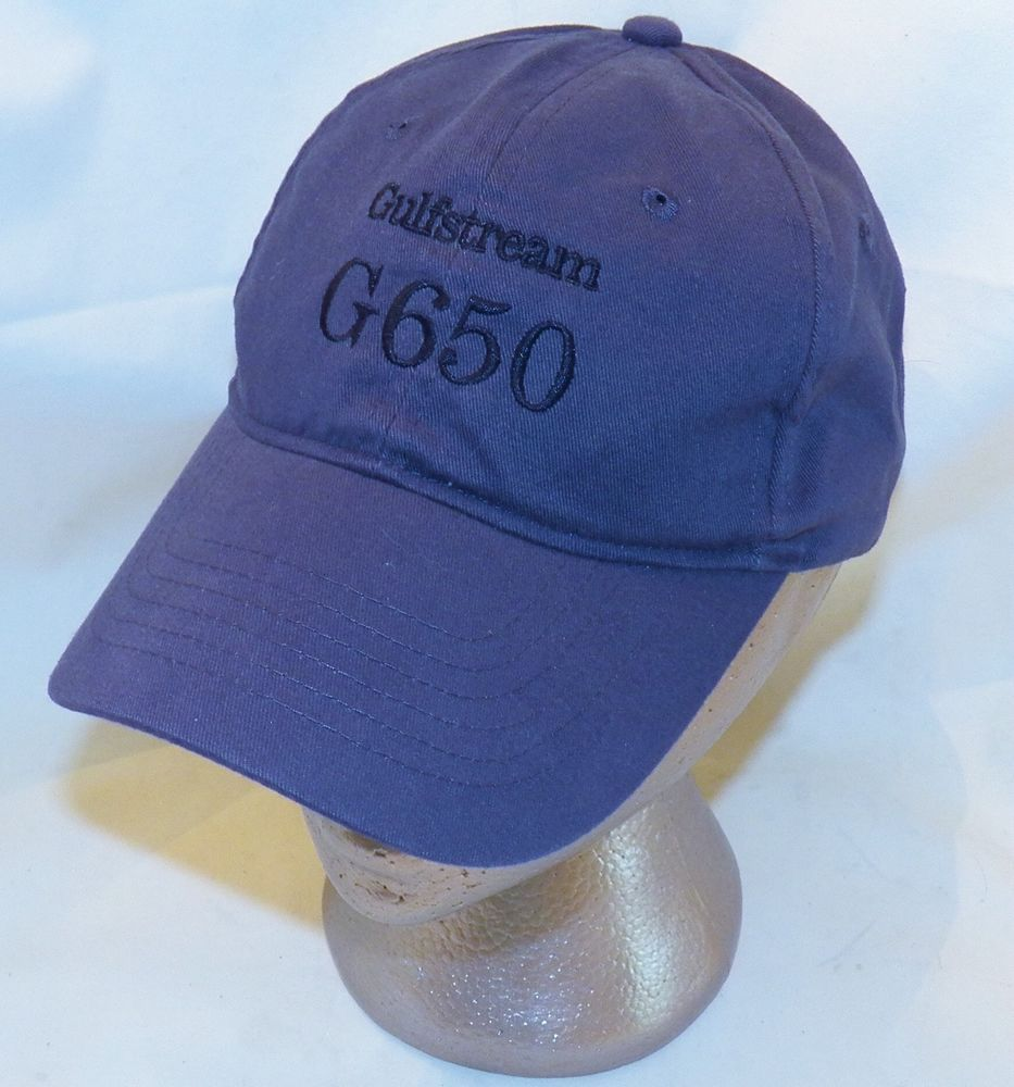 3f1a5f1091bdd Gulfstream G650 Jet Aircraft Gray Head Start Licensed Products Baseball Cap  Hat #HeadStartbyKCCaps #BaseballCap