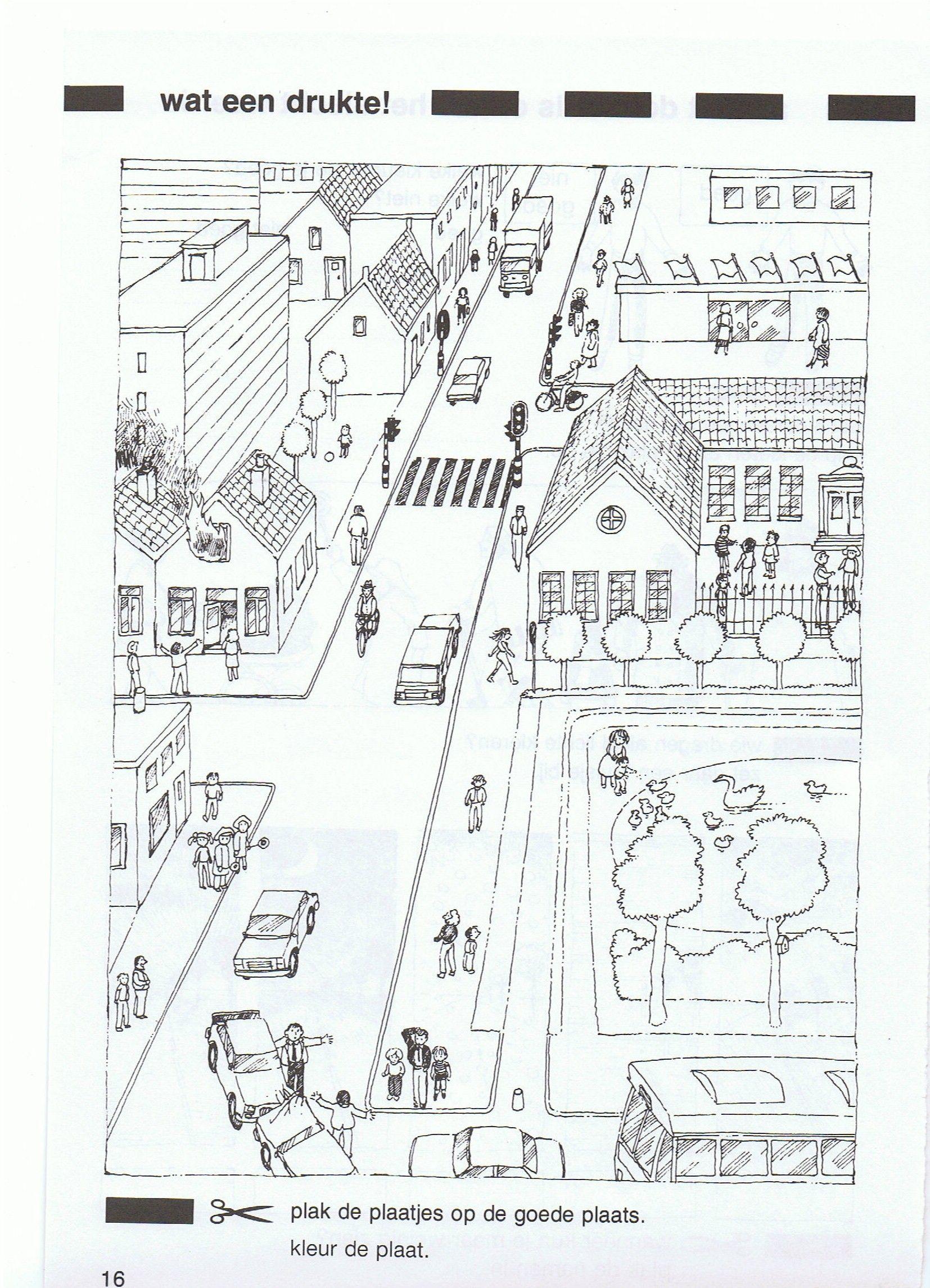 zoekplaat zwart wit | Teaching | Pinterest | Kindergarten worksheets ...
