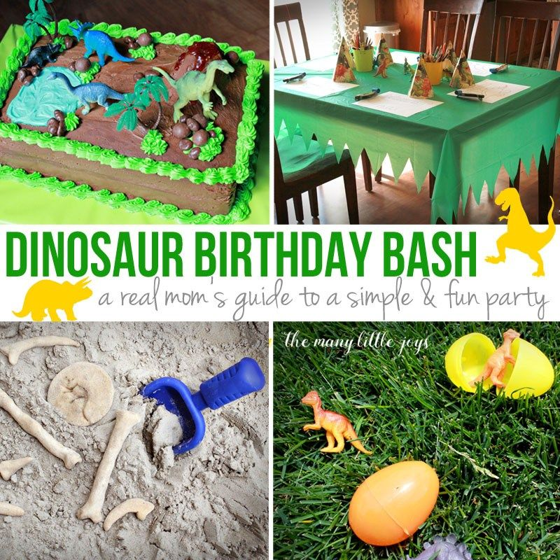 Dinosaur Birthday Party A Real Mom S Guide Dinosaur Birthday