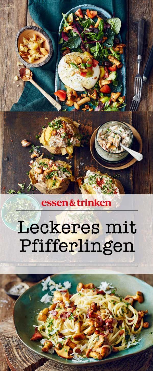 Pfifferlinge: Wissenswertes & Rezepte #saladeautomne
