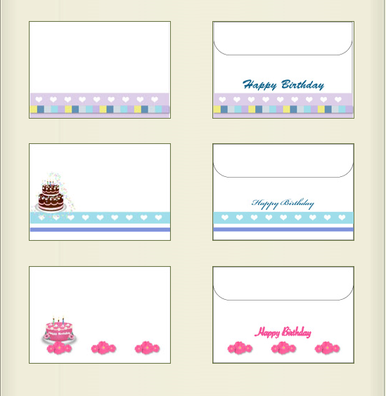 FREE Printable Birthday Envelopes At My Free Cards