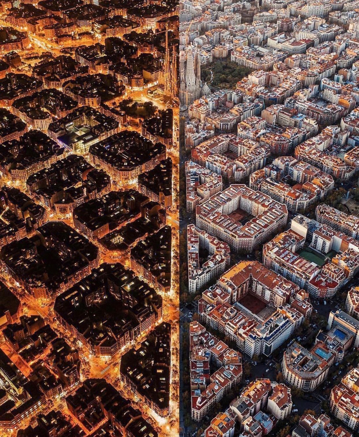 Pin By Lef On Travel With Images Day For Night City Barcelona
