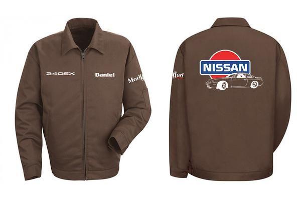 S14 Zenki Mechanic's Jacket  Style: Slash Pocket Jacket Fabric: 7.5 oz. twill Blend: 65% polyester/35% cotton, Finish: Pre-cure durable permanent press Closure