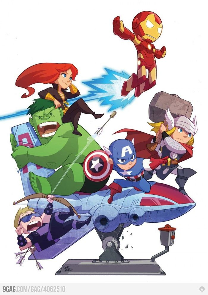 The Avengers by Gurihiru! Awesome!