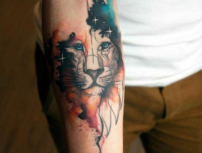 1001 id es en photos de tatouage lion inspirez vous de l 39 art des tatoueurs pinterest - Tatouage lion signification ...