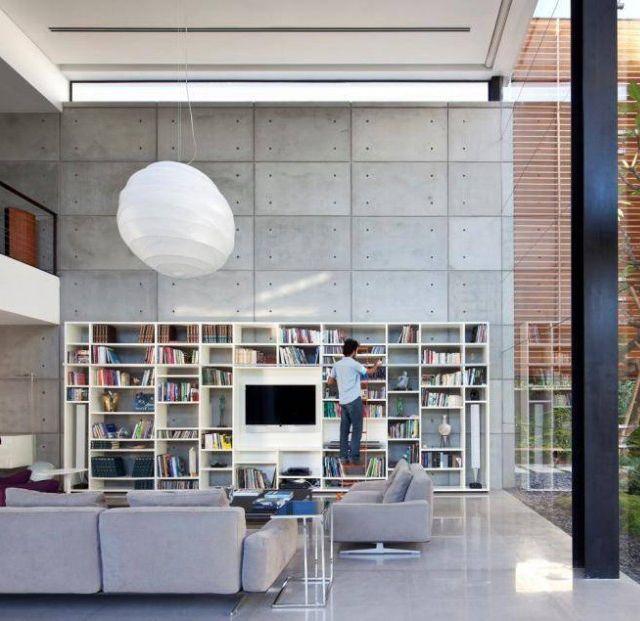 Contemporary bauhaus residence by pitsou kedem architect
