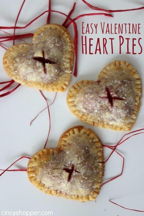 Easy Valentine Heart Pies Easy Valentine Heart Pies desserts