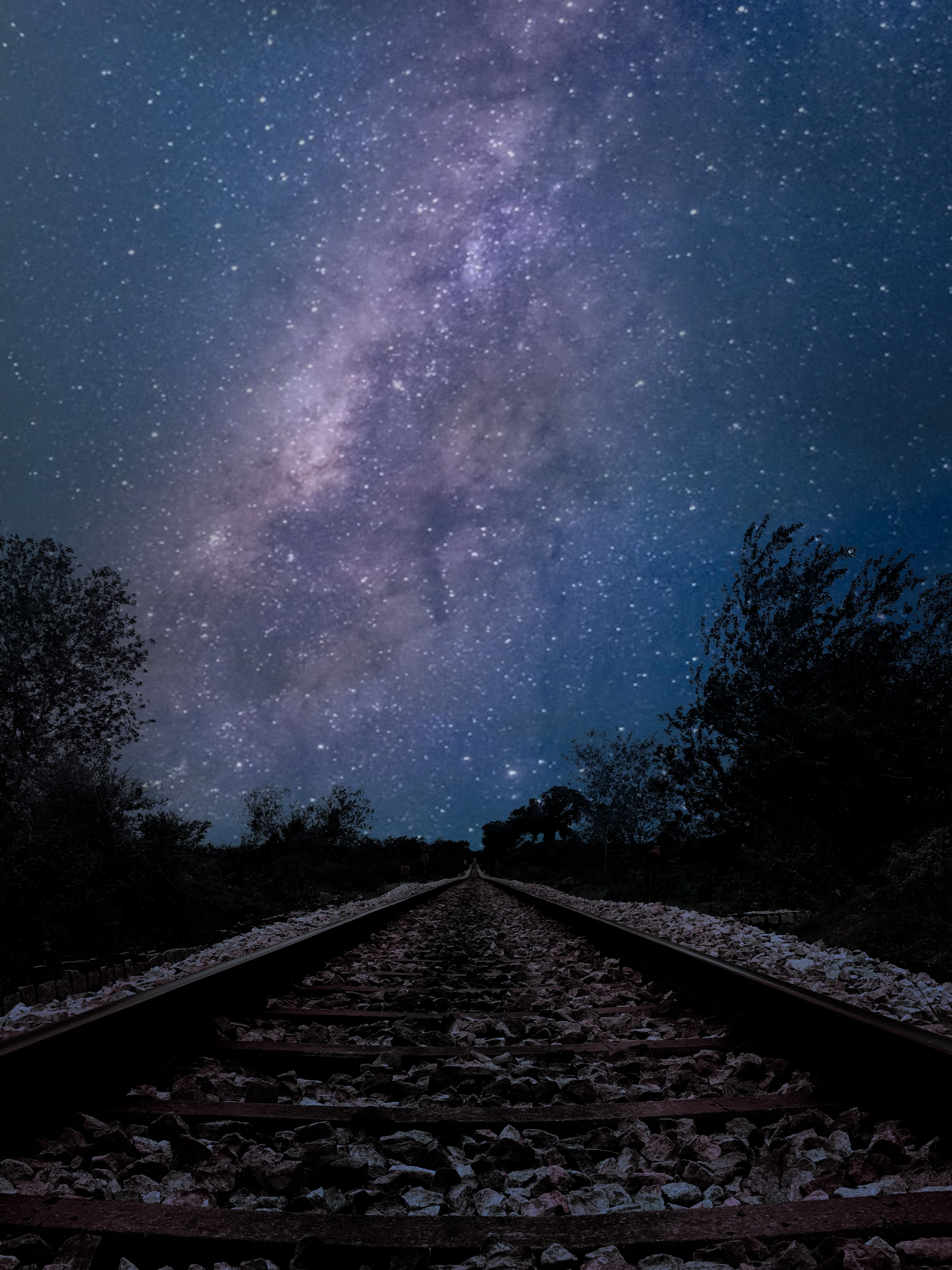 Milkyway Galaxy Photoshop work  | LV's Photography and Photo