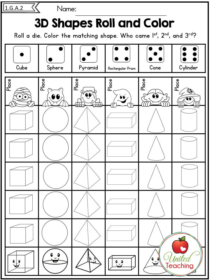 Halloween Math Worksheets October 1st Grade Halloween Math Worksheets Math Worksheets Halloween Math