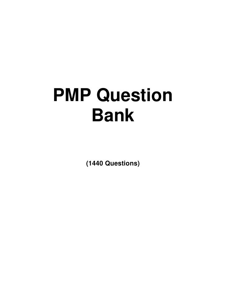 Pmp Exam Question Bank Pmp Pinterest Pmp Exam Banks And