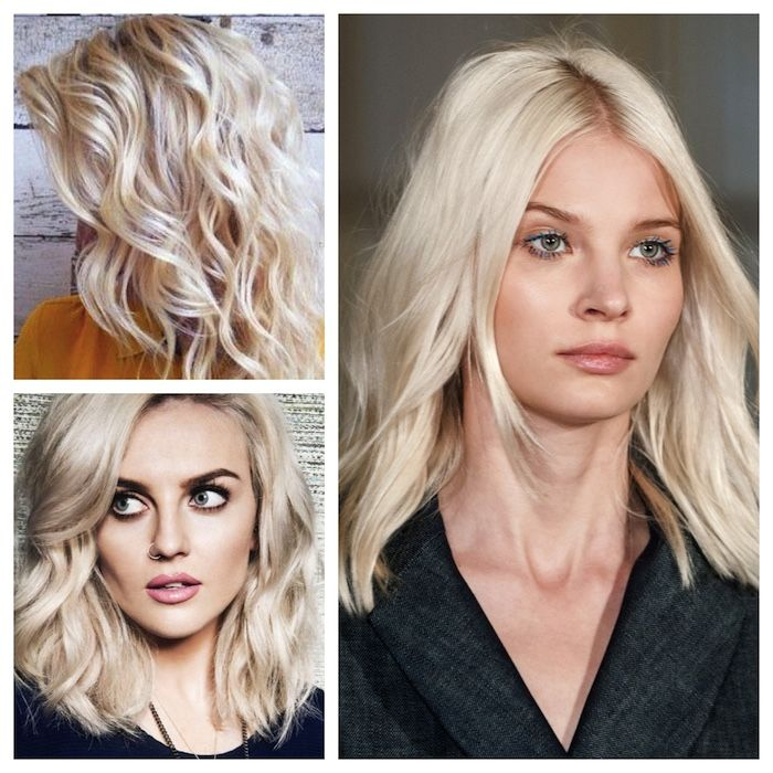 Hair Color Inspiration And Formulation Ivory Blonde Bright