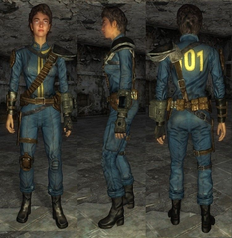 Fallout 3 armored vault suit