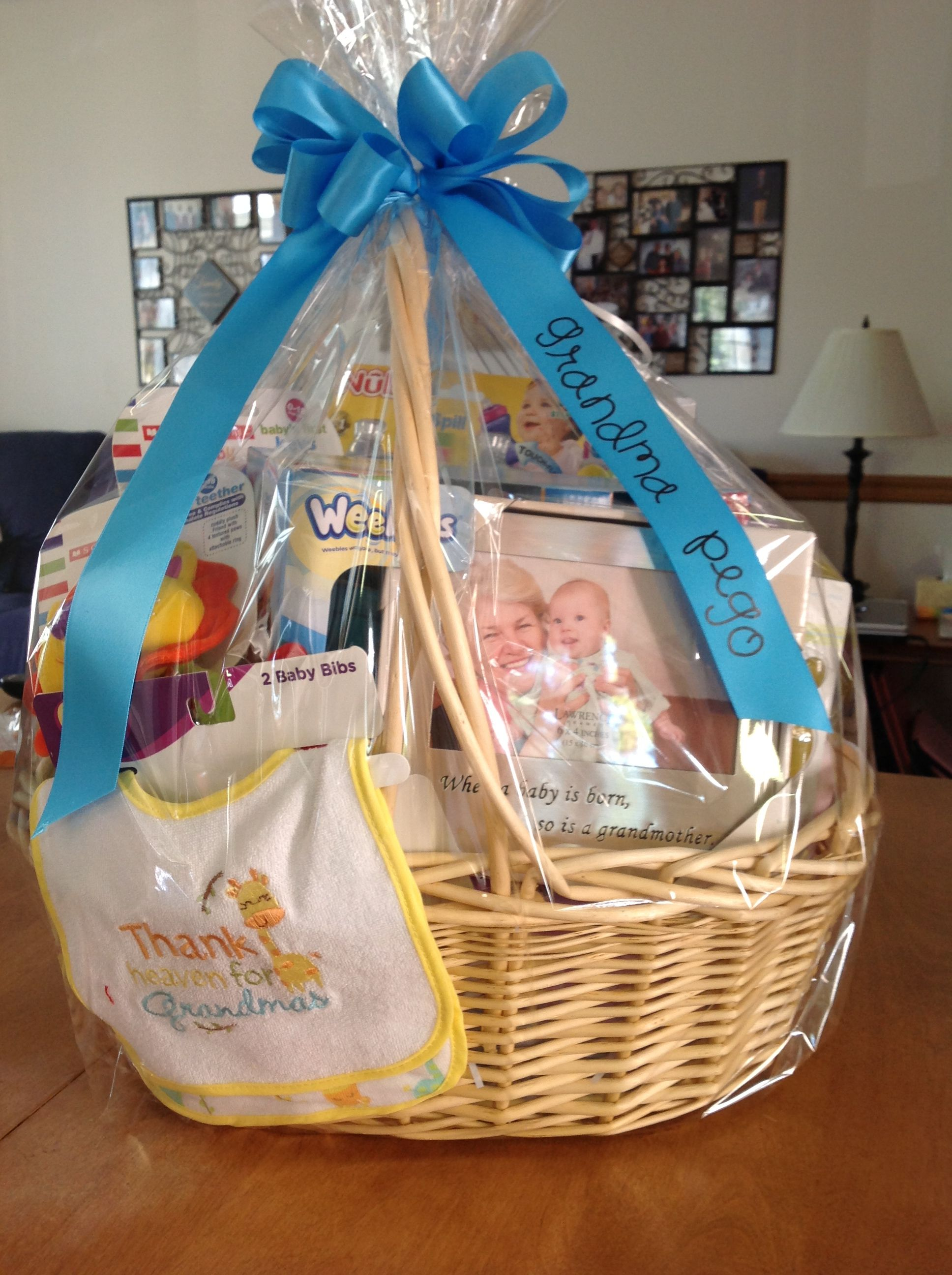 Grandmother Dress For Baby Shower : grandmother, dress, shower, Cynthia, Schirm, Creative, Shower, Gifts, Shower,, Gifts,, Basket