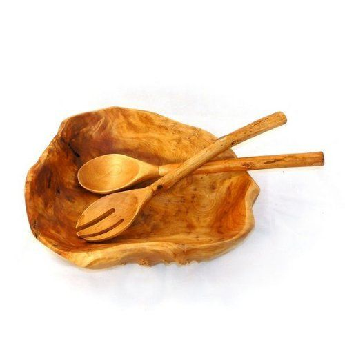 Enrico Root Wood Extra Large Bowl Salad Grade by Enrico Products. $89.95. Hand wash for best results - lacquer finish cleans up easily. Price is for Extra Large Sald Bowl Only. Approximate Dimensions- 16-20 L x 16-20 W x 4-6 H inches. Each piece is hand-carved by skilled artisans so no two are exactly alike. Knotholes and minor cracks add a unique charm.. Gorgeous wood grain and colors make these great for a wide variety of serving and decorative uses. Salad grade RootWorks ...