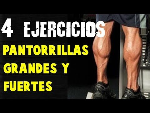 Como Tener Pantorrillas Grandes Y Fuertes 4 Ejercicios Para Pantorrillas Physical Fitness Calf Exercises Strength Workout