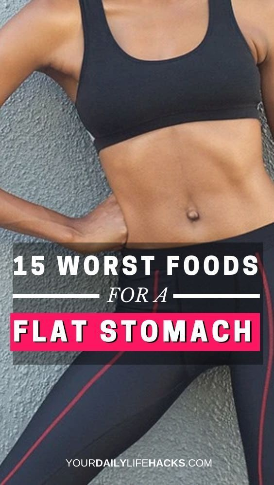 15 Things You Should Never Eat If You Want a Flat Stomach |nutrition plans to lose weight | eating l...