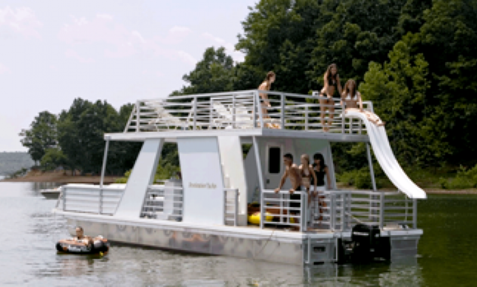 Rent a 35' Party Yacht on Lake Lanier in Gainesville ... Lake Lanier Party