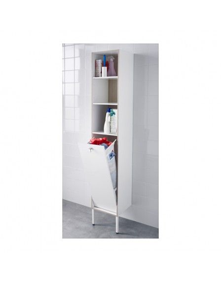 Tyngen Laundry Cabinet White Ash Effect Laundry Room In 2018