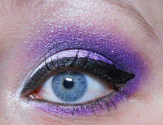 purple eyeshadow with blue eyes  purple eyeshadow blue