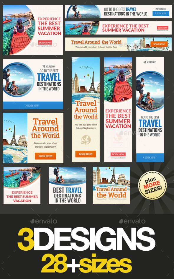 Travel Promotion Banners Independence Day Banners
