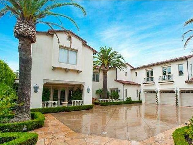 Nba Homes Kobe Bryant S Home In Newport Coast Pictures