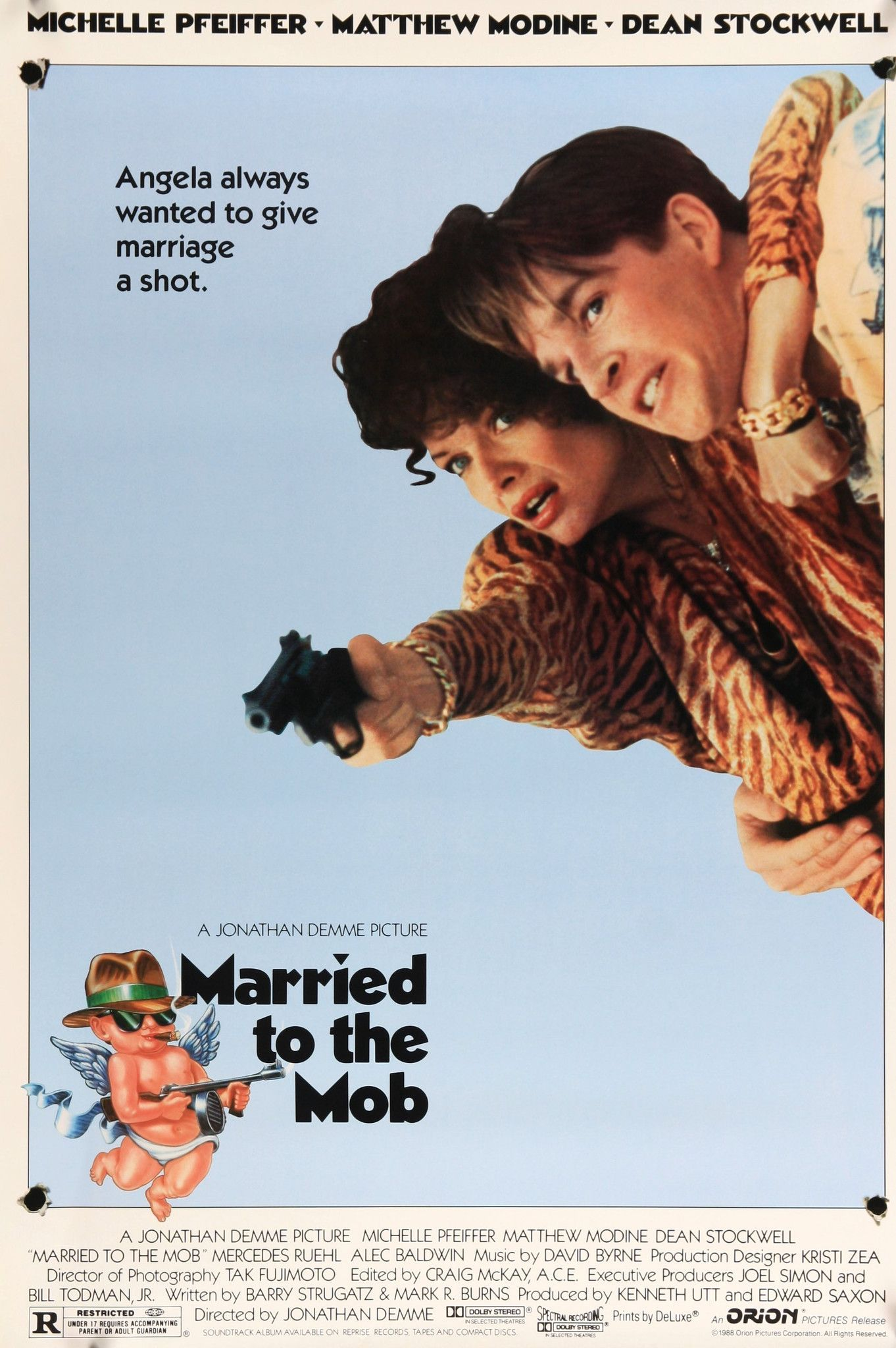 Married to the Mob (1988)   Pinterest