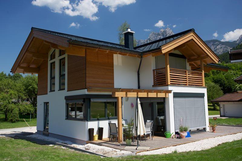 Holzbau Herbst aus Unken Salzburg steht für Holzhaus