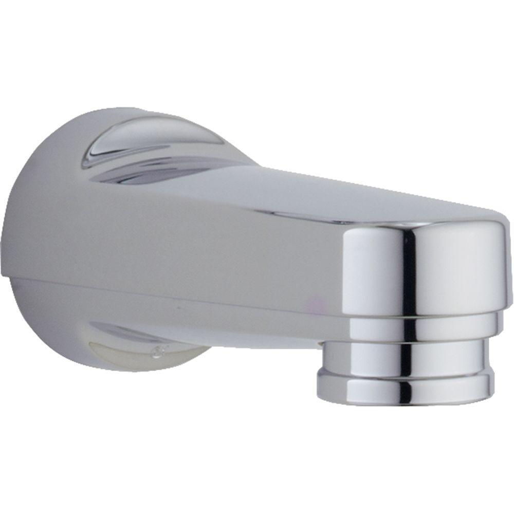Delta Pull Down Diverter Tub Spout In Chrome Rp5836 Tub Spout