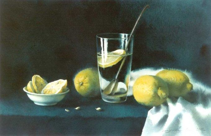by Elena Bazanova. Limons