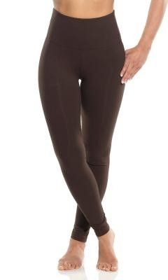 f4a08b5536cdda Lysse Leggings Tight Ankle Brown Espresso Tummy Control Stretch Slimming  Pant