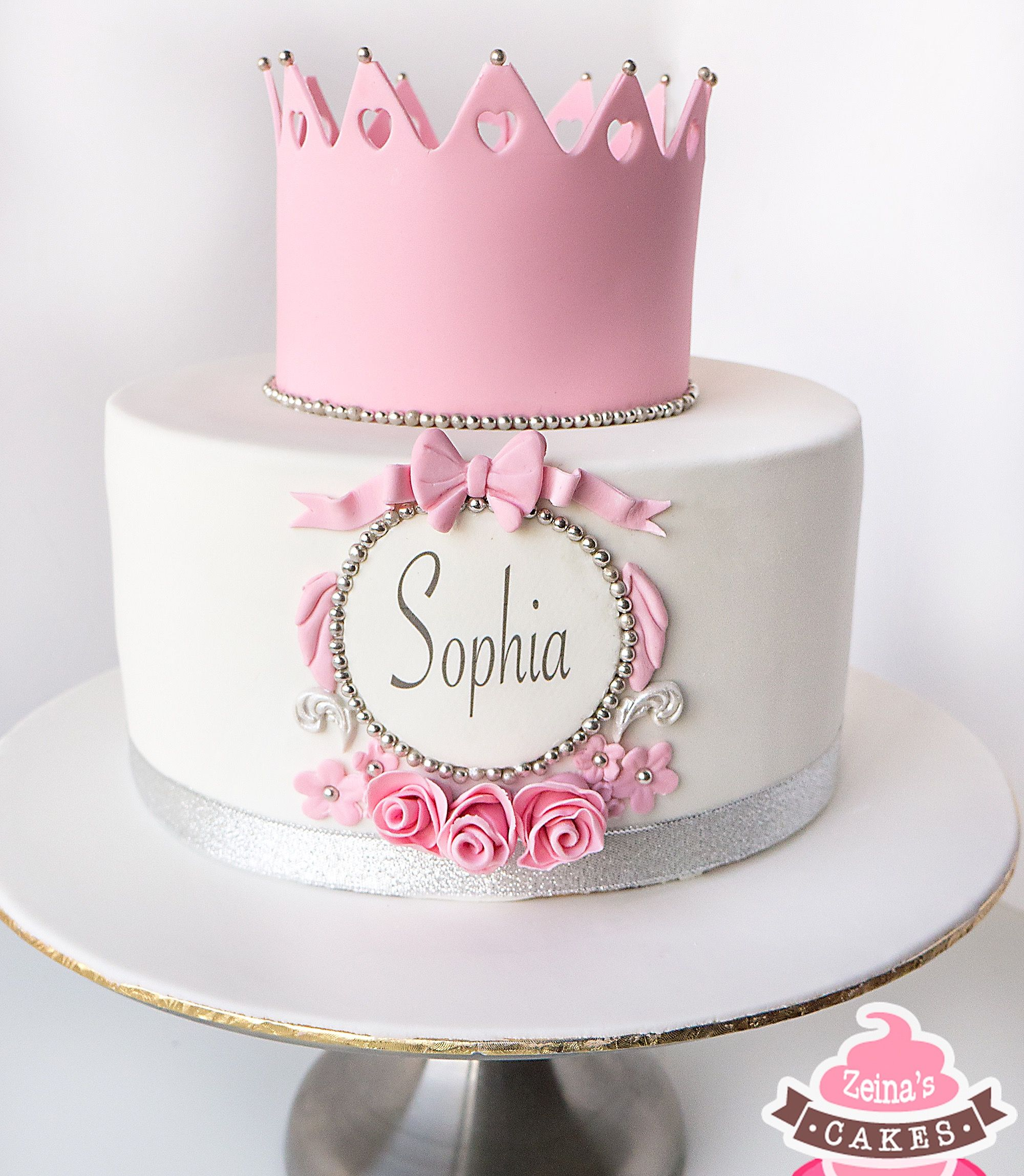 Princess Cake By Zeina S Princess Birthday Cake Princess Cake