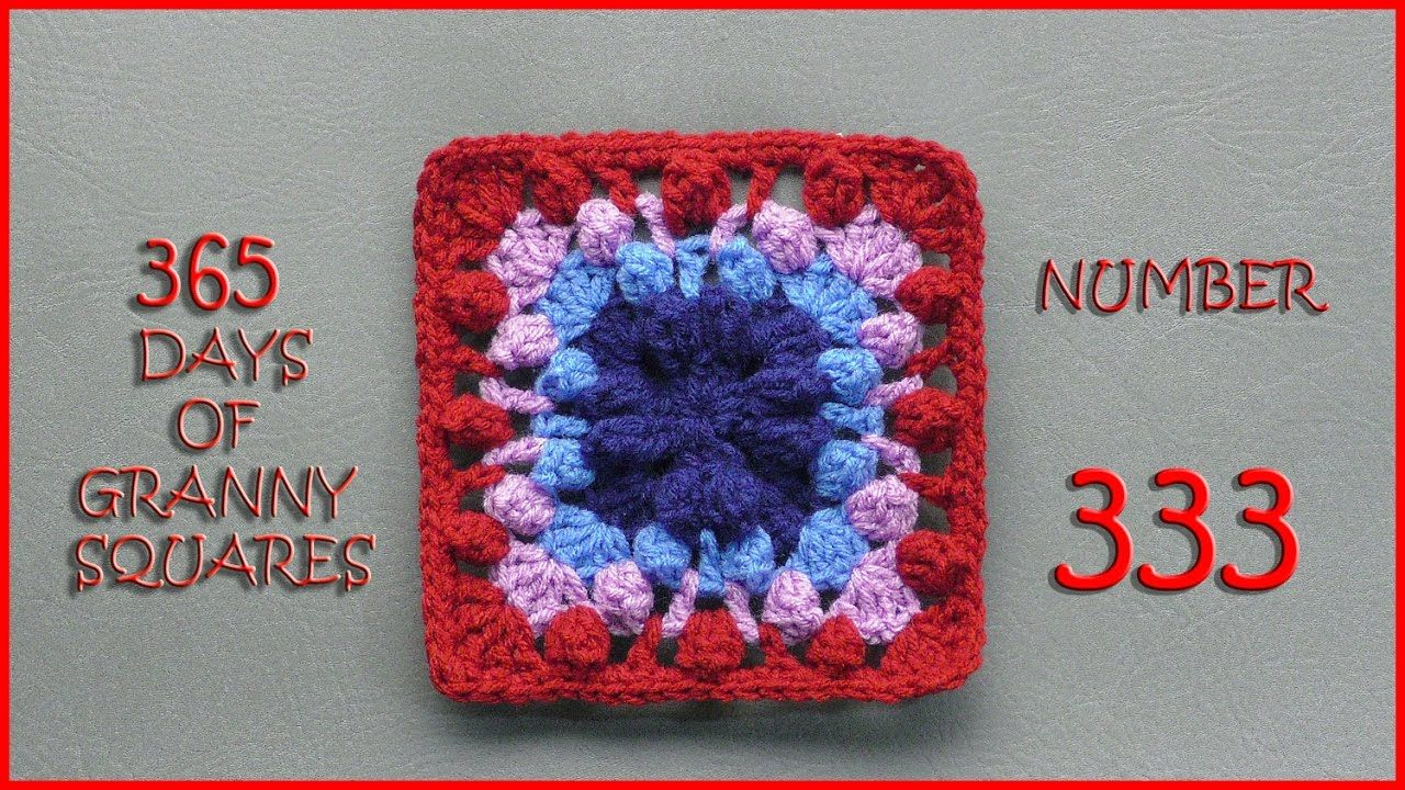 365 Days of Granny Squares Number 333 | squere | Pinterest | La ...
