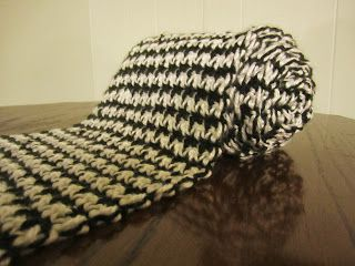 Free houndstooth scarf pattern crochet pinterest houndstooth free houndstooth scarf pattern dt1010fo
